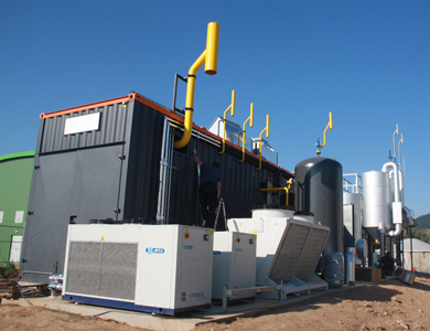 ETW Energietechnik GmbH Compact farm scale biomethane plants - industry news