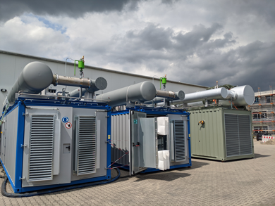 ETW Energietechnik GmbH Customized CHP cogeneration units - industry news