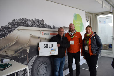 2019: First Metso Truck Body sold to operate in a quarry