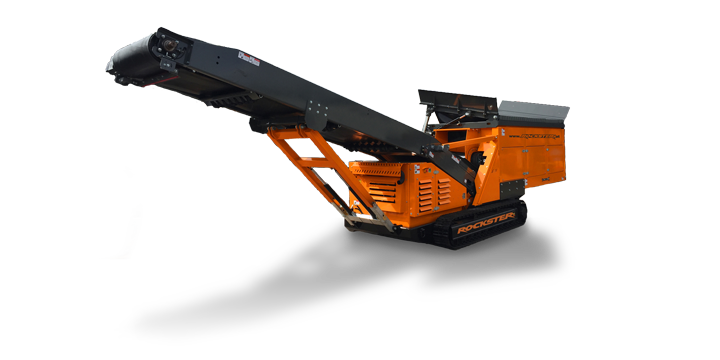Rockster Tracked Feeder Conveyors - industry news
