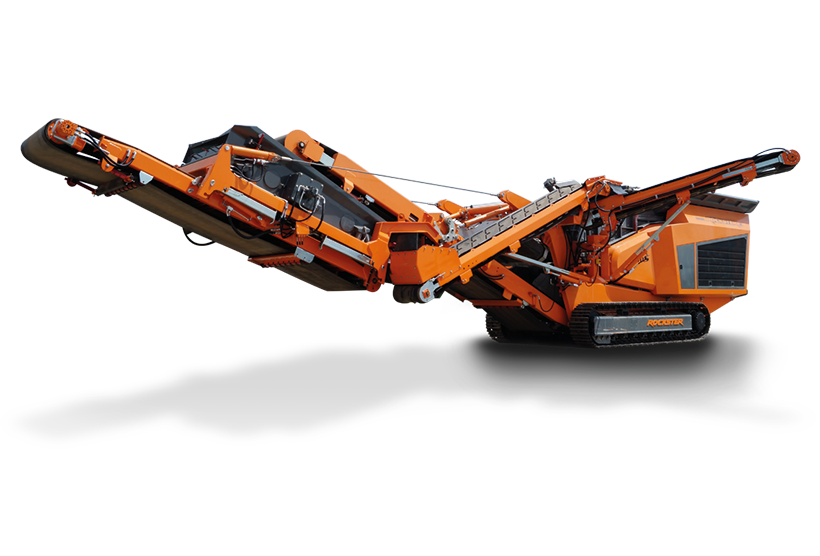 Rockster Track-mounted impact crushers - industry news