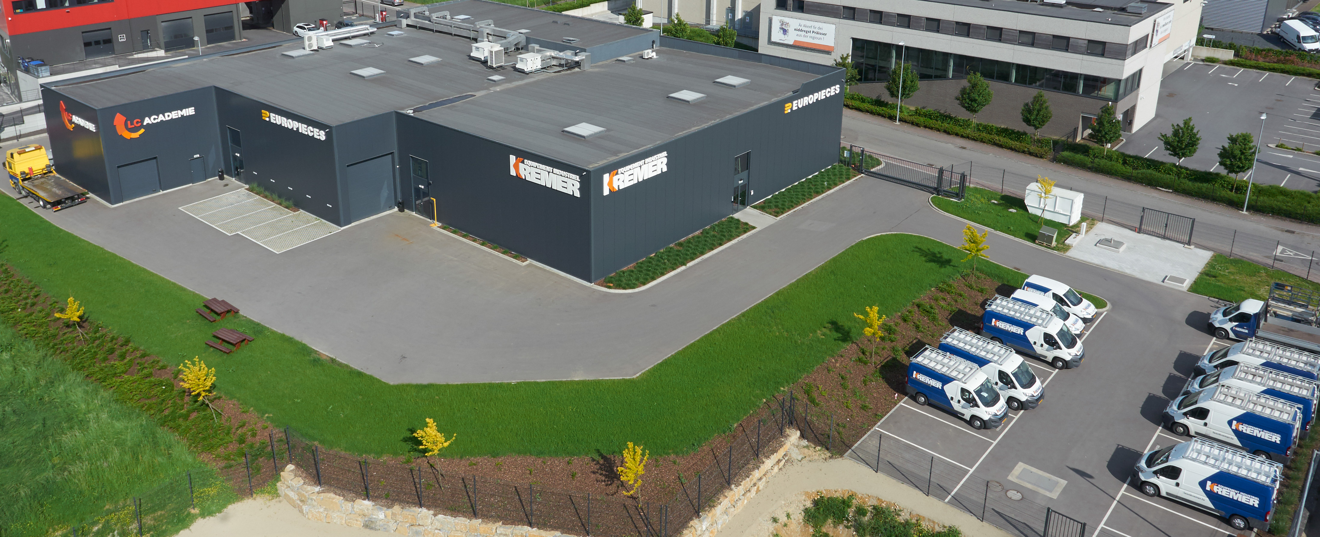 The Europieces Luxembourg S.A. site in Sassenheim located in Sassenheim in the canton of Esch on the Alzette. Photo: CLARK Europe GmbH