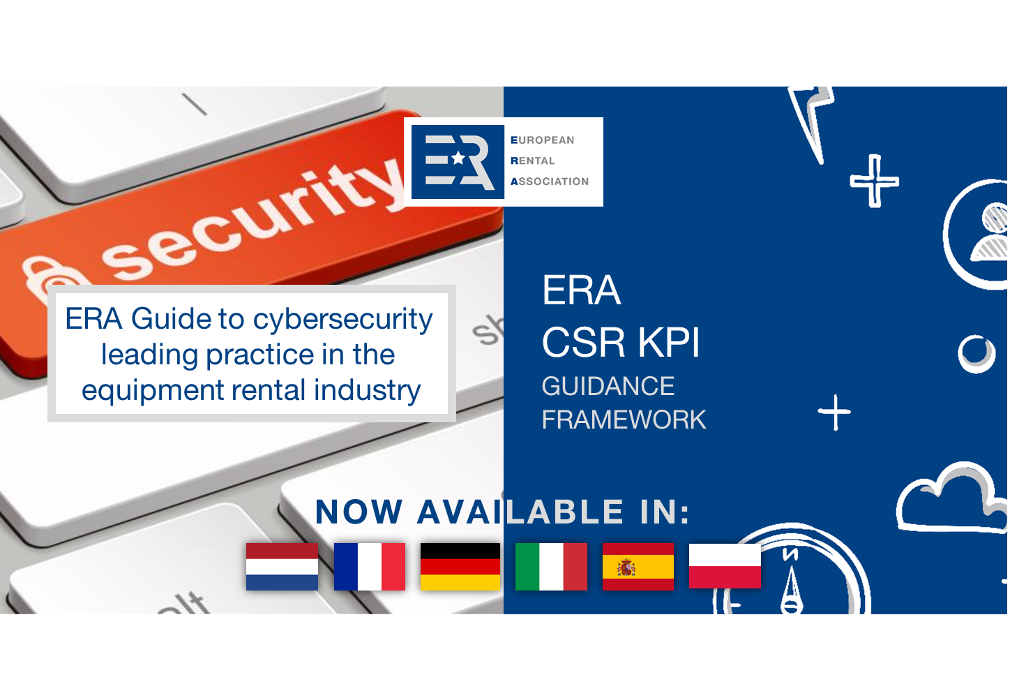ERA Cybersecurity Guide and CSR KPI Guidance Framework now available in 6 languages