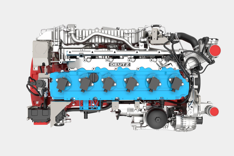 The TCG 7.8 H2 is DEUTZ's first hydrogen engine.