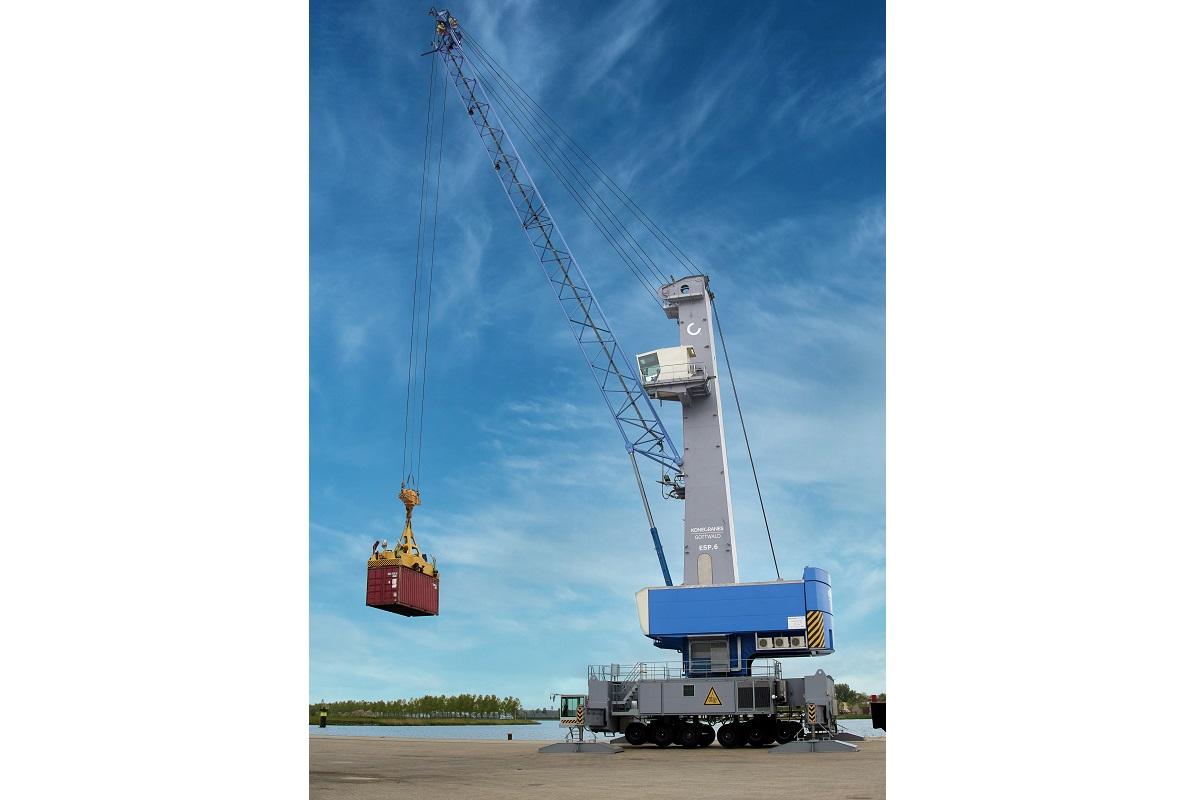 Konecranes Gottwald ESP.6 Mobile Harbor Crane