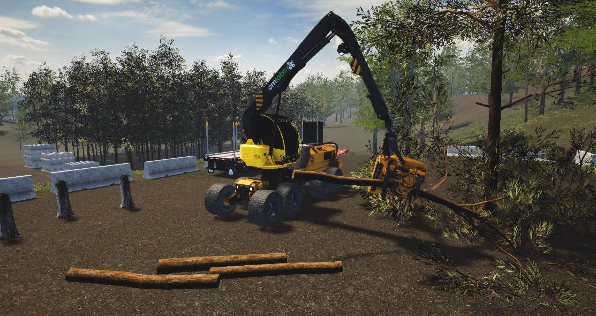 CM-Labs Launches Comprehensive Training Solution for Harvester Operators