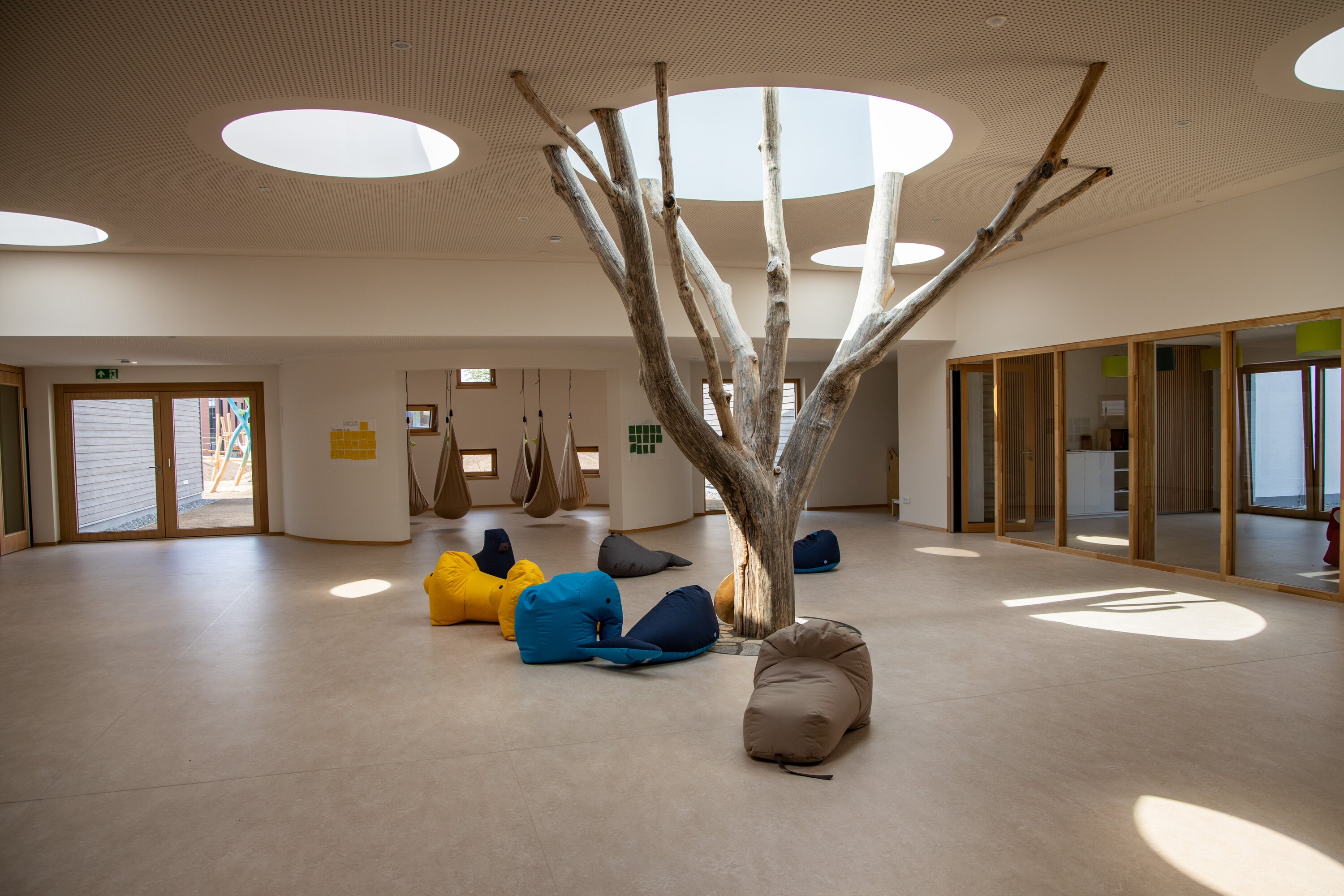 Special day care centre concept promotes health, mindfulness and closeness to nature