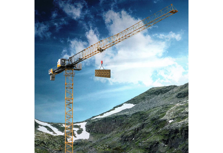 The new 205 EC-B 10 Flat-Top crane from Liebherr