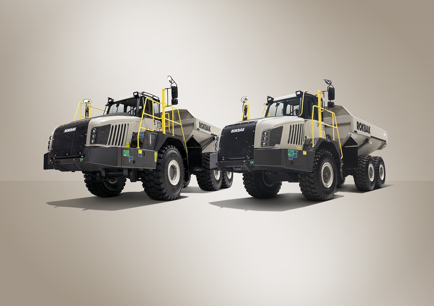 The 28-tonne payload RA30 and 38-tonne payload RA40 from Rokbak are the most productive and efficient articulated haulers the company has ever made.