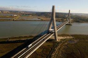 ULMA: Renovation of Guadiana International Bridge