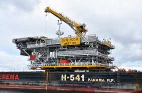 The Fixed Facilities Alliance Delivers Record-Breaking Platform to the Hod Field From Aker Solutions' Yard in Verdal