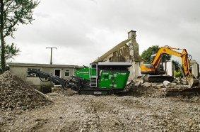 Bison 120, House Demolition. Ireland