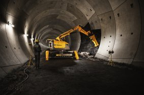 Brokk 900 Tunnel