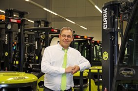Olivier Bellissan, Branch Manager of Clark France SARL in Saint-Quentin-Fallavier