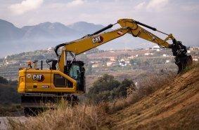 Cat® M319 wheeled excavator