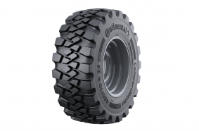 Continental CompactMaster EM: New loader tyre launched for the construction industry.