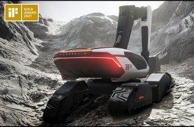 The Concept-X excavator design