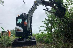 Bobcat E85 mini excavators
