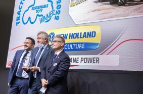 The Sustainable Tractor of the Year Award is the culmination of New Holland's pioneering work on the use of alternative fuels and a significant step forward on the path to decarbonizing agriculture.