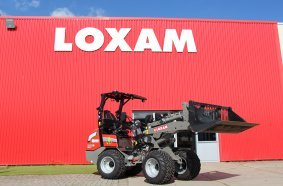 Electric GIANT wheel loaders for Loxam