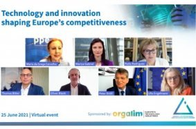Volvo CE joined the intergroup discussion on the EU technology and innovation policies