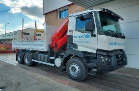PK 23500 loader crane