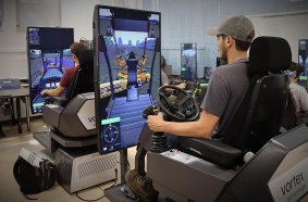 Mont-Laurier Vocational School Saves a Week of Training with Vortex Simulators