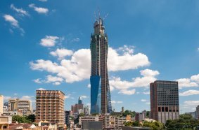 Eurotec machines keep South East Asia's tallest building on track