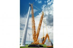 The new LR 1700-1.0 sets new standards in the crawler crane class between 600 and 750 tonnes.