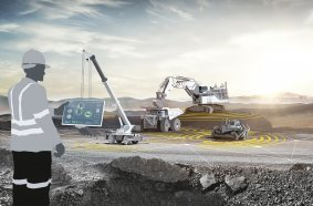 Liebherr with a variety of machines and new technologies at MINExpo 2021.