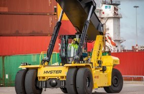 New Cabs and Engines for Largest Hyster Big Trucks