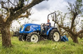 New Holland powers up its compact tractor offering with launch of Stage V Boomer range