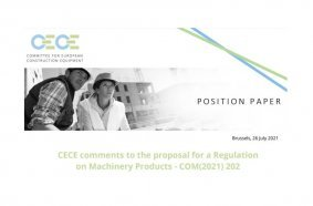 CECE publishes amendment proposals for an industry-friendly Machinery Products Regulation