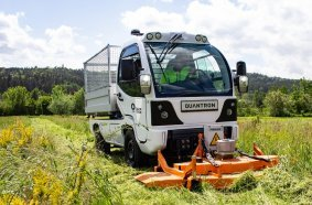 The Q-ELION from QUANTRON. As M-series for municipalities. As T-series for transport tasks