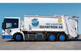 The QHB 27-280 electric refuse collection vehicle from Quantron AG, now with 5-year warranty