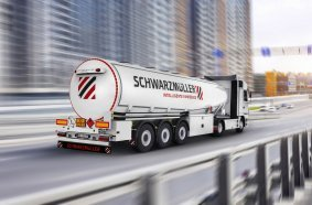 With 150 niche vehicles such as tanks, Schwarzmüller is the most diversified manufacturer in Europe.