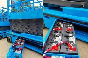 Discover batteries will now feature in Sinoboom boom and scissor lifts around the world.