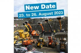 The 11th International Demonstration Fair for the Raw Materials and Building Materials Industry had to be cancelled for 2021 due to the unpredictable development. Thus, the 11th steinexpo will not take place again until 23 to 26 August 2023 at the MHI quarry in Nieder-Ofleiden, Hesse.