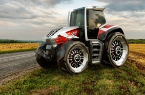 STEYR Konzept Tractor won a 2020 Good Design® Award