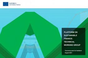 The Platform on Sustainable Finance publishes preliminary recommendations for technical criteria for the EU Taxonomy