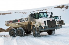 Terex Trucks - TA300 - Five ways to maintain your dump truck during winter