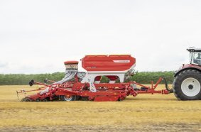 Efficient sowing with the new TERRASEM 6000V