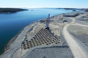 Trevi - Dinamic Compaction for Norvik Port - Stockholm, Sweden