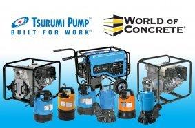 Tsurumi to put robust engineering on display at World of Concrete 2021