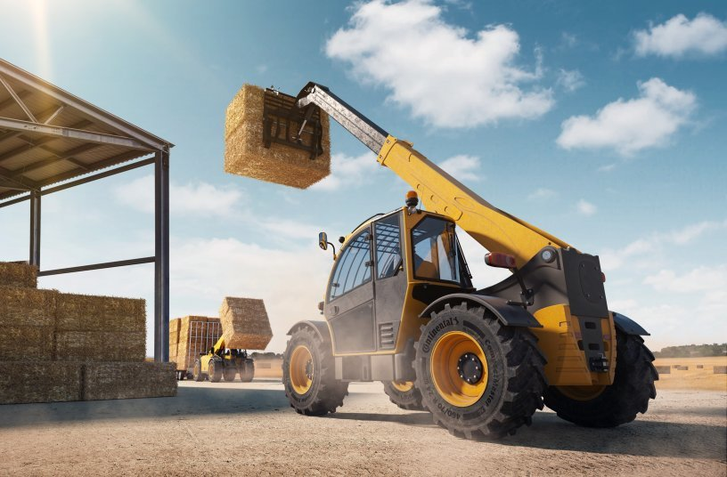 Continental has launched CompactMaster AG, a new telehandler and skid-steer loader tire <br>Image source: Continental Reifen Deutschland GmbH