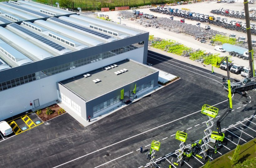 Zoomlion Europe is based in Senago MI, Italy <br>Image source: Zoomlion Europe; CIFA Spa</br>