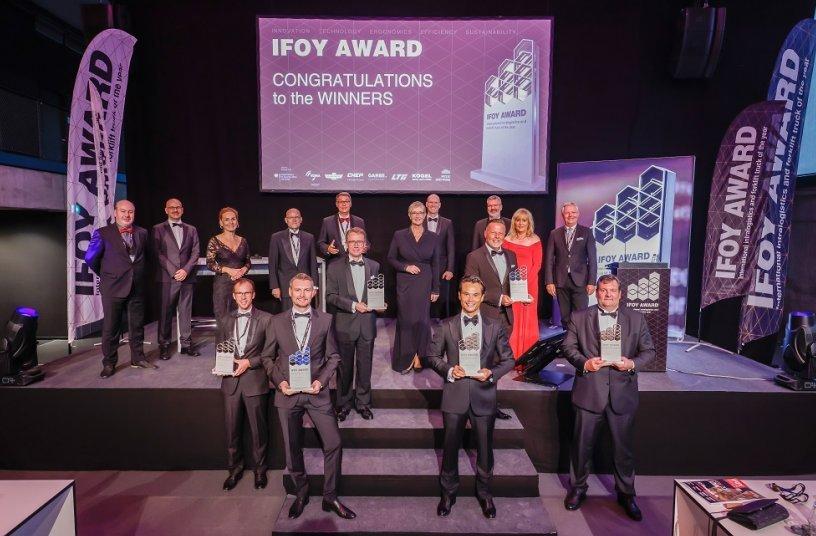 In sechs Kategorien wurde der IFOY AWARD 2021 an die Sieger übergeben.<br> Bildquelle: IFOY AWARD