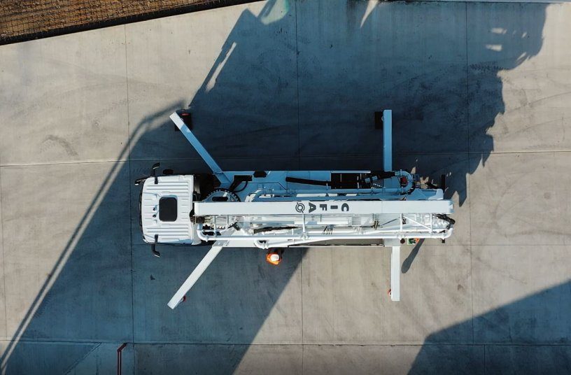 CIFA's New Concrete Pump: K36L-5, the machine for everything and everyone
