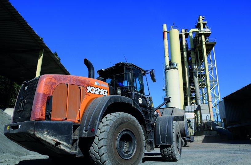 CASE 1021G wheel loader <br>Image source: CASE Construction Equipment </br>