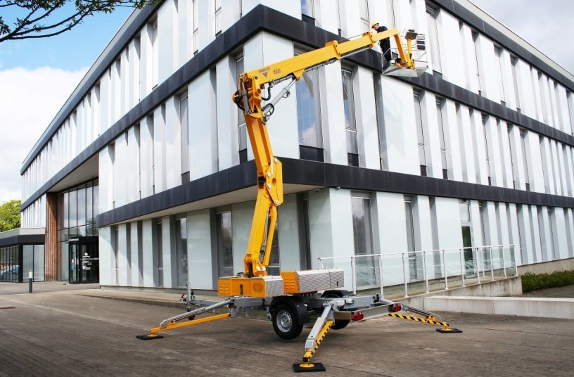 1500 EX Trailer Mouted Lift <br>Image source: OMMELIFT A/S